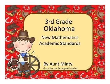 2017-2018 3rd Grade Oklahoma Math, Language Academic Standards Cowboy Design