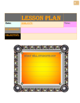 2016/ 2017 6th-12th GradeTeacher Planner: Organize and Plan your lessons.