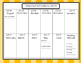 2016-2017 Academic Calendar- Orange Theme