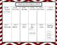 2016-2017 Academic Calendar- Reds Theme