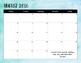 2016-2017 Watercolor Calendar