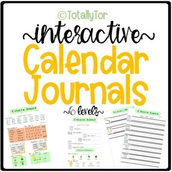 Calendar Journal Set