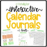Calendar Journal Set