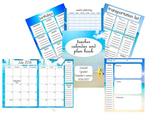 2016-2017 Beach Teacher Plan Book and Calendar