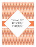 2016-2017 Chevron Teacher Planner