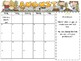 2016-2017 Editable Calendar (Monday -Friday Only) With Not
