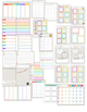 2016-2017 Editable Chevron Teacher Planner/Binder