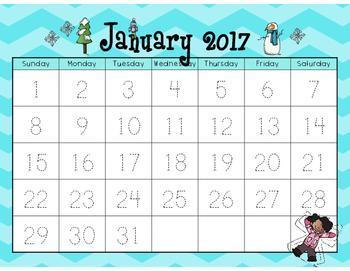 2016 - 2017 Interactive Student Calendar (Bundle!)