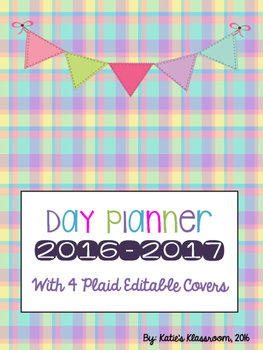 2016-2017 Lesson Day Planner