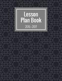 2016-2017 Lesson Planner (Black & White)