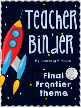 2016-2017 Space Final Frontier Teacher Binder