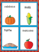 2016-2017 NEW Thanksgiving Vocabulary Pack in English and Spanish FREEBIE