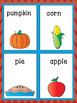 2016-2017 NEW Thanksgiving Vocabulary Pack in English and