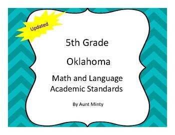 2017-2018 Oklahoma 5th Grade Math and Language Academic Standards, Chevron