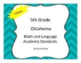 2018-2019 Oklahoma 5th Grade Math and Language Academic Standards, Chevron