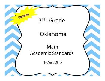 2016-2017 Oklahoma 7th Grade Math Academic Standards, Chev