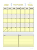 2016 - 2017 Planner/Calendar (Colorful)