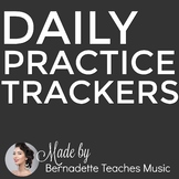 Printable Practice Logs for Each Month