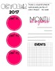 2016-2017 Sanity Saver: Month-At-A-Glance