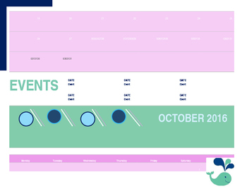 2016 - 2017 School Calendar