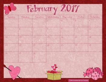 2016 - 2017 School Year Calendars