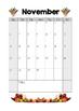 2016 - 2017 Seasonal Calendar