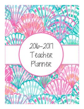 2016-2017 Shell Teacher Planner