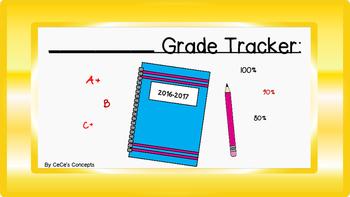 2016-2017 Student Grade Tracker