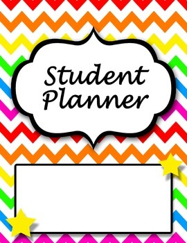 2017-2018 Student Planner *Editable* UPDATED