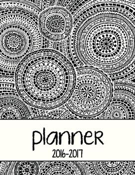 2016-2017 Teacher Planner (Black and White)
