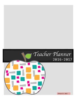 2016-2017 Teacher Planner/Calendar