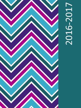 2016-2017 Teacher Planner Chevron
