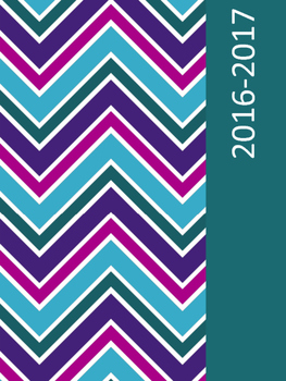 2016-2017 Teacher Planner Chevron