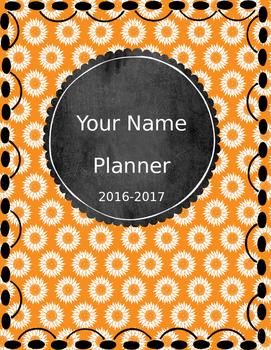 Teacher Planner {Editable} - Free Updates