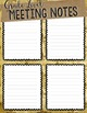 2016-2017 Vintage Vixen Teacher Planner (Editable)