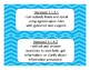 2017-2018 3rd Grade Oklahoma Language Arts Standards Chevron design