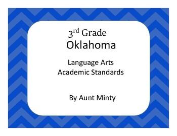 3rd Grade Oklahoma Language Arts Standards Chevron design