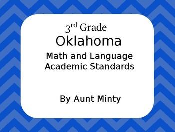 3rd Grade Oklahoma Math and Language Arts Standards Chevro
