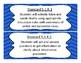 2016 5th Grade Oklahoma Language Arts Standards Chevron design