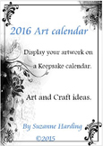 2016 Art Keepsake Calendar