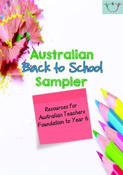 2016 Australian Back to School Sampler