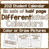 Calendar 2017, DIY Student Picture Calendar - Differentiat