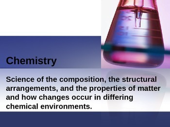 2016 Chemistry for Cosmetology