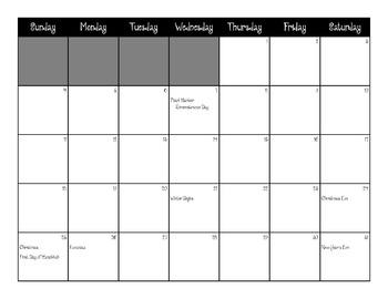 2016 Color-Your-Own Calendar
