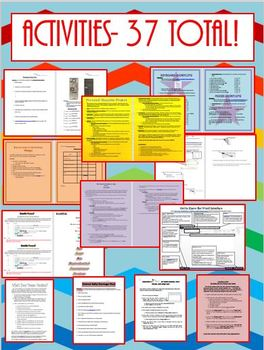 2016 Computer Applications Daily Lesson Plans with Materials for WHOLE SEMESTER
