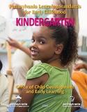 2016 Early Learning Standards Kindergarten