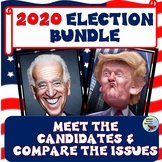 2020 Election Bundle Meet the Presidential Candidates Print & Google Drive