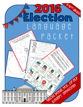 2016 Election Language Packet Bundle