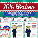 2016 Election Posters | Candidates & Political Parties | Presidential Election