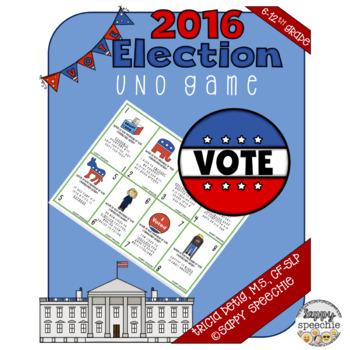2016 Election Language focused UNO game